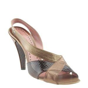 Louis Vuitton Slingback Heelsx Size 38.5 167854